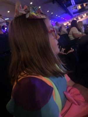 Michael  attended Nickelodeon's Jojo Siwa D. R. E. A. M the Tour on Oct 1st 2019 via VetTix