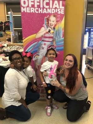Katelyn attended Nickelodeon's Jojo Siwa D. R. E. A. M the Tour on Oct 1st 2019 via VetTix