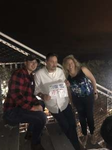 Emily attended Toby Keith With American Idol Winner Laine Hardy on Oct 5th 2019 via VetTix