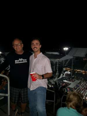 Matthew attended Toby Keith With American Idol Winner Laine Hardy on Oct 5th 2019 via VetTix