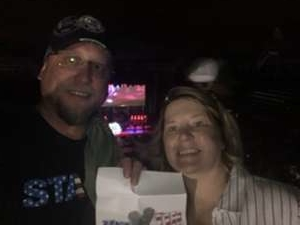 Joel attended Toby Keith With American Idol Winner Laine Hardy on Oct 5th 2019 via VetTix