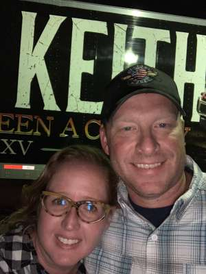 Shawn attended Toby Keith With American Idol Winner Laine Hardy on Oct 5th 2019 via VetTix