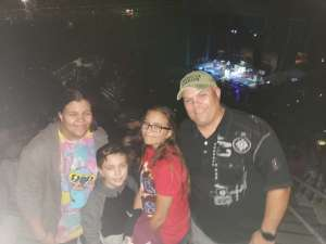 Leland attended Toby Keith With American Idol Winner Laine Hardy on Oct 5th 2019 via VetTix