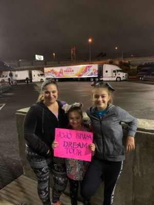 Click To Read More Feedback from Nickelodeon's Jojo Siwa D. R. E. A. M. The Tour