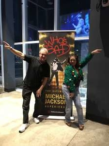 Michael attended Who S Bad the Ultimate Michael Jackson Experience on Dec 19th 2019 via VetTix