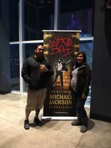 PB attended Who S Bad the Ultimate Michael Jackson Experience on Dec 19th 2019 via VetTix