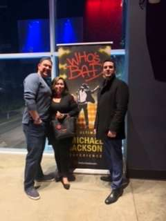 Newton attended Who S Bad the Ultimate Michael Jackson Experience on Dec 19th 2019 via VetTix