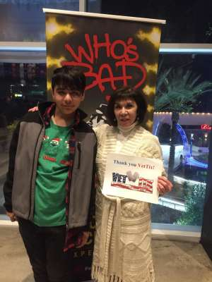 V.T. Sanchez attended Who S Bad the Ultimate Michael Jackson Experience on Dec 19th 2019 via VetTix