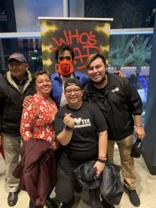 Caroline L attended Who S Bad the Ultimate Michael Jackson Experience on Dec 19th 2019 via VetTix