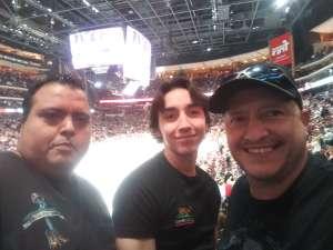 Ramon attended Arizona Coyotes vs. Vegas Golden Knights - NHL on Oct 10th 2019 via VetTix