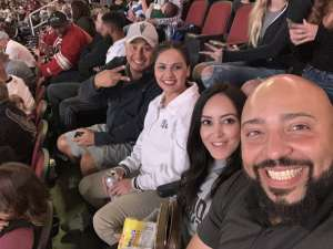Peter attended Arizona Coyotes vs. Vegas Golden Knights - NHL on Oct 10th 2019 via VetTix