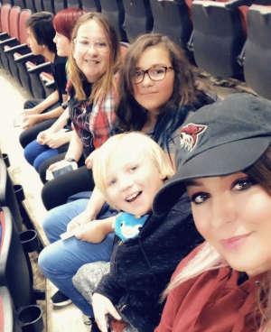 Joshua attended Arizona Coyotes vs. Vegas Golden Knights - NHL on Oct 10th 2019 via VetTix