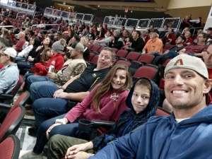 Patrick attended Arizona Coyotes vs. Vegas Golden Knights - NHL on Oct 10th 2019 via VetTix