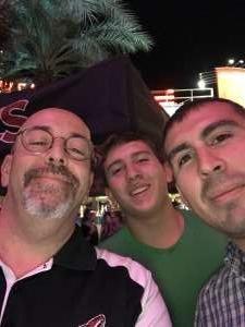 Glenn attended Arizona Coyotes vs. Vegas Golden Knights - NHL on Oct 10th 2019 via VetTix