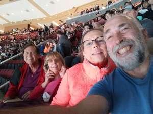 Bruce attended Arizona Coyotes vs. Vegas Golden Knights - NHL on Oct 10th 2019 via VetTix