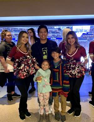LUIS attended Arizona Coyotes vs. Vegas Golden Knights - NHL on Oct 10th 2019 via VetTix