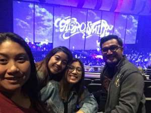Frederick attended Aerosmith- Deuces Are Wild on Oct 1st 2019 via VetTix