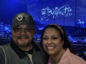 Frank attended Aerosmith- Deuces Are Wild on Oct 1st 2019 via VetTix