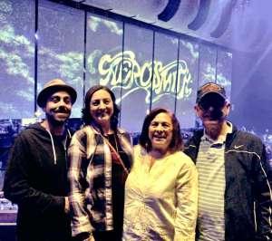 Robert attended Aerosmith- Deuces Are Wild on Oct 1st 2019 via VetTix