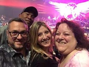 Alvin attended Aerosmith- Deuces Are Wild on Oct 1st 2019 via VetTix