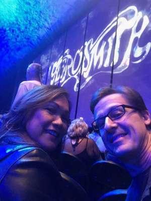andrew attended Aerosmith- Deuces Are Wild on Oct 1st 2019 via VetTix
