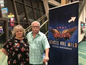 Joe attended Aerosmith- Deuces Are Wild on Oct 1st 2019 via VetTix