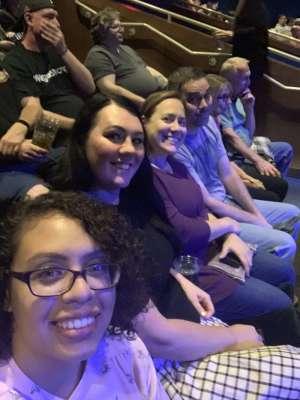 JW attended Aerosmith- Deuces Are Wild on Oct 1st 2019 via VetTix