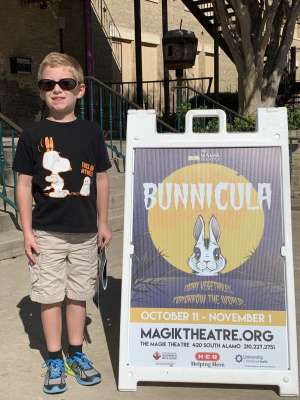PAUL attended Bunnicula - the Magik Theatre on Oct 19th 2019 via VetTix
