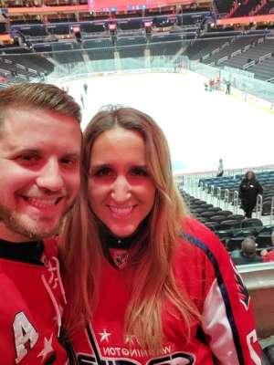 Michael attended Washington Capitals vs. Dallas Stars - NHL on Oct 8th 2019 via VetTix