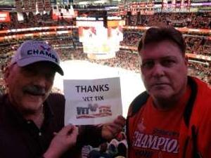 Mark attended Washington Capitals vs. Dallas Stars - NHL on Oct 8th 2019 via VetTix