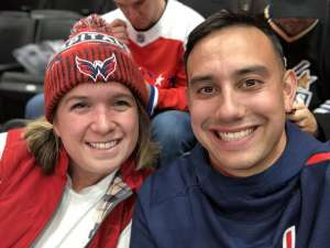 Sean attended Washington Capitals vs. Dallas Stars - NHL on Oct 8th 2019 via VetTix