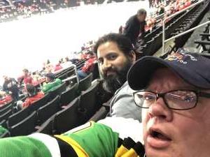 Andy attended Washington Capitals vs. Dallas Stars - NHL on Oct 8th 2019 via VetTix