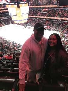 Sherwood attended Washington Capitals vs. Dallas Stars - NHL on Oct 8th 2019 via VetTix