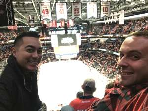 David attended Washington Capitals vs. Dallas Stars - NHL on Oct 8th 2019 via VetTix