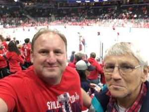 gregory attended Washington Capitals vs. Dallas Stars - NHL on Oct 8th 2019 via VetTix