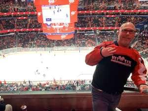 Thomas attended Washington Capitals vs. Dallas Stars - NHL on Oct 8th 2019 via VetTix