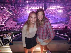 Suzanne attended Carrie Underwood: the Cry Pretty Tour 360 on Oct 4th 2019 via VetTix