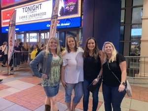 Misty attended Carrie Underwood: the Cry Pretty Tour 360 on Oct 4th 2019 via VetTix