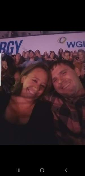 Tobias attended Carrie Underwood: the Cry Pretty Tour 360 on Oct 4th 2019 via VetTix