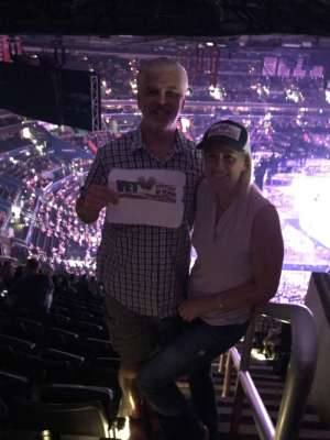 Sean & Millie attended Carrie Underwood: the Cry Pretty Tour 360 on Oct 4th 2019 via VetTix