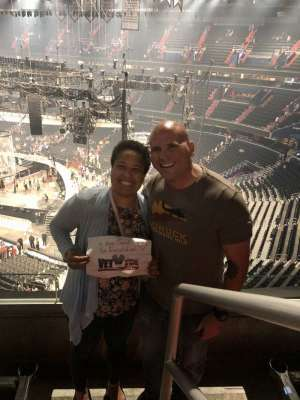 Sandra attended Carrie Underwood: the Cry Pretty Tour 360 on Oct 4th 2019 via VetTix