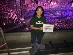 Christina attended Carrie Underwood: the Cry Pretty Tour 360 on Oct 4th 2019 via VetTix