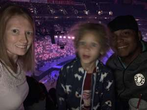 Bryson attended Carrie Underwood: the Cry Pretty Tour 360 on Oct 4th 2019 via VetTix