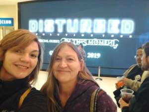 Patricia attended Disturbed: Evolution Tour on Oct 13th 2019 via VetTix
