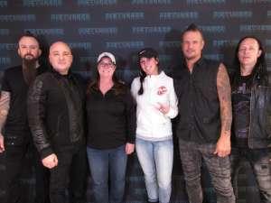 Sandra attended Disturbed: Evolution Tour on Oct 13th 2019 via VetTix