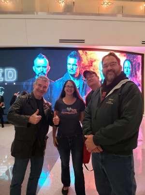 Yvette attended Disturbed: Evolution Tour on Oct 13th 2019 via VetTix