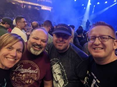 Jessica attended Disturbed: Evolution Tour on Oct 13th 2019 via VetTix