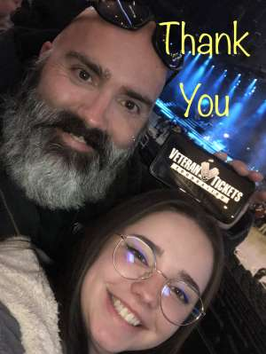Aaron attended Disturbed: Evolution Tour on Oct 13th 2019 via VetTix