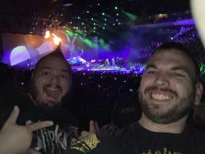 Jarrett attended Disturbed: Evolution Tour on Oct 13th 2019 via VetTix