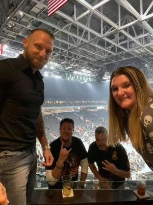 Dave attended Disturbed: Evolution Tour on Oct 13th 2019 via VetTix